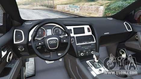 GTA 5 Audi Q7 2010 rear right side view