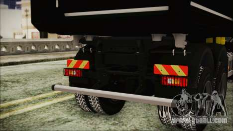 Volvo FMX Euro 6 Snow for GTA San Andreas right view