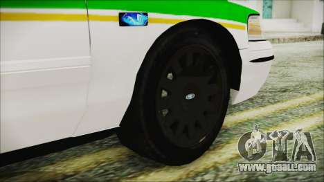Ford Crown Victoria Miami Dade v2.0 for GTA San Andreas back left view