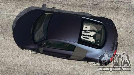 GTA 5 Audi R8 Quattro back view