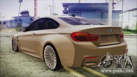 BMW M4 Coupe for GTA San Andreas left view