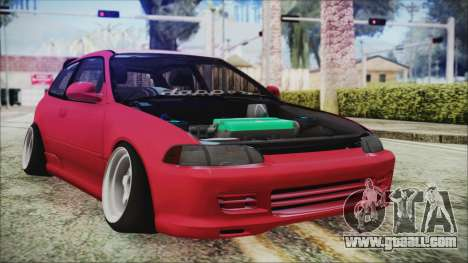 Honda Civic EG6 Hellaflush for GTA San Andreas