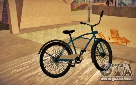 GTA V Cruiser Bike for GTA San Andreas left view
