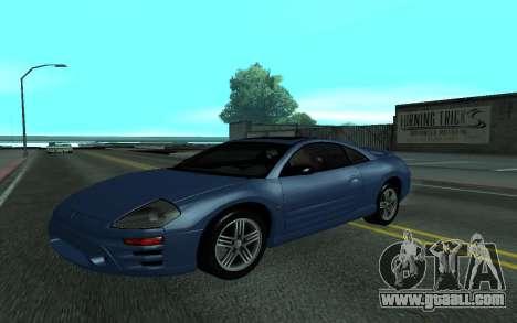Mitsubishi Eclipse GTS Tunable for GTA San Andreas