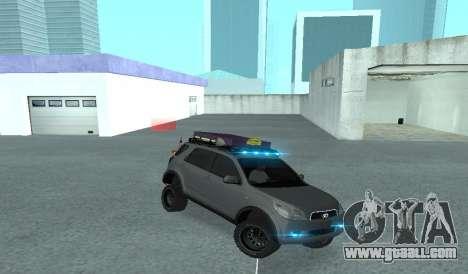 Toyota Terios 2009 OFF-ROAD MUD-TERRAIN for GTA San Andreas side view