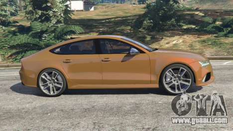 Audi RS7 2016 for GTA 5