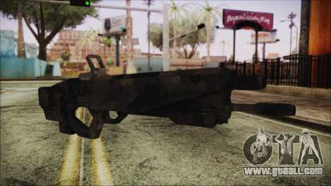 Cyberpunk 2077 Rifle Camo for GTA San Andreas