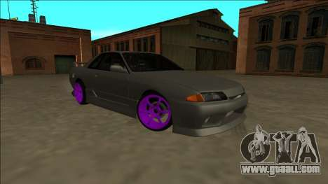 Nissan Skyline R32 Drift for GTA San Andreas inner view