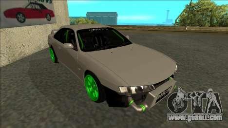 Nissan Silvia S14 Drift Monster Energy for GTA San Andreas left view