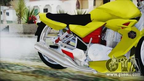 Yamaha Tuning Full Cromo for GTA San Andreas right view
