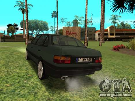 Volkswagen Passat B3 for GTA San Andreas back left view