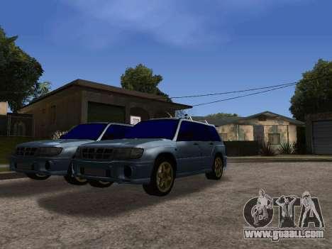 Subaru Forester 1998 for GTA San Andreas