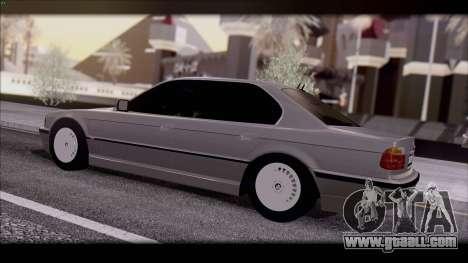 BMW 7-er E38 for GTA San Andreas left view