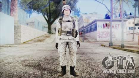 World In Conflict US Marine Winter for GTA San Andreas second screenshot