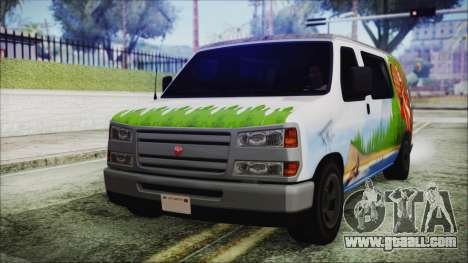 GTA 5 Bravado Paradise Lumberjack Artwork for GTA San Andreas