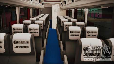 JetBus Marissa Holiday for GTA San Andreas right view