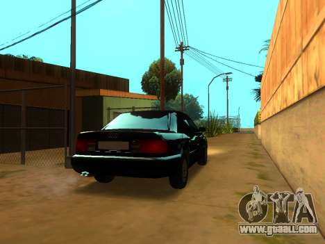 Audi 100 C4 1994 for GTA San Andreas back left view
