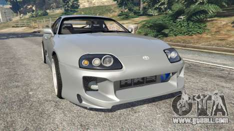 Toyota Supra JZA80 v1.1 for GTA 5