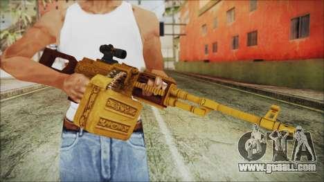 GTA 5 MG from Lowrider DLC for GTA San Andreas third screenshot