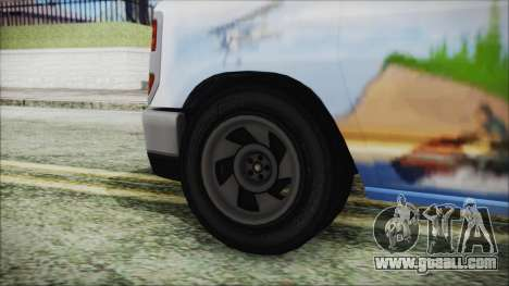 GTA 5 Bravado Paradise Lumberjack Artwork for GTA San Andreas back left view