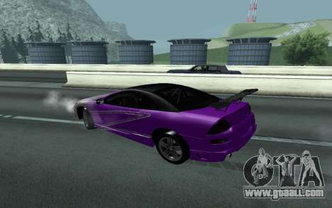 Mitsubishi Eclipse GTS Tunable for GTA San Andreas back view