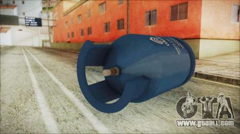 Gas LPG 12 kg for GTA San Andreas