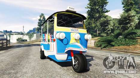 Tuk-Tuk for GTA 5