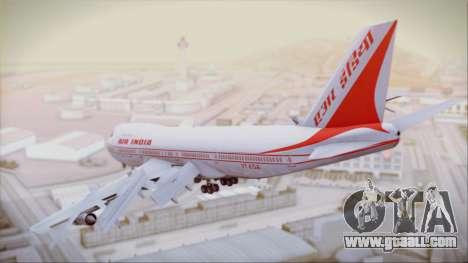 Boeing 747-237Bs Air India Samudragupta for GTA San Andreas left view