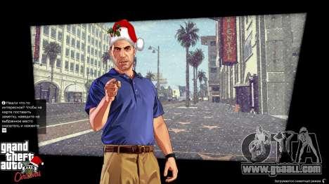 Christmas boot screens for GTA 5