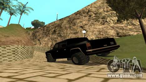 FBIranch By MarKruT for GTA San Andreas left view