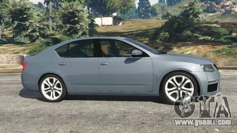 GTA 5 Skoda Octavia VRS 2014 [hatchback] left side view