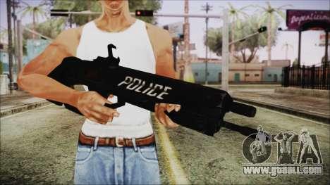Cyberpunk 2077 Rifle Police for GTA San Andreas third screenshot