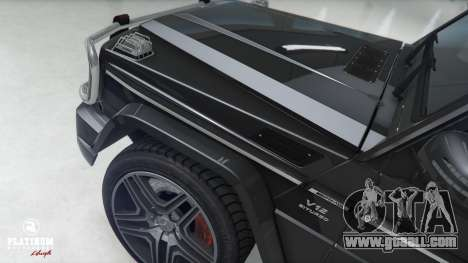 GTA 5 Mercedes-Benz G63 AMG v1 front right side view