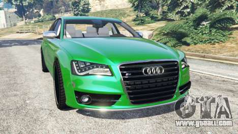 Audi S8 Quattro 2013 for GTA 5