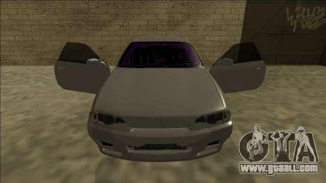 Nissan Skyline R32 Drift for GTA San Andreas interior