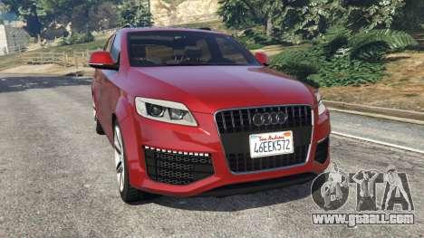 Audi Q7 2010 for GTA 5