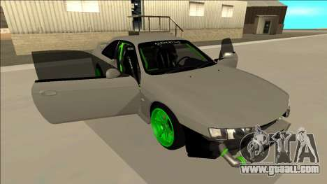 Nissan Silvia S14 Drift Monster Energy for GTA San Andreas bottom view