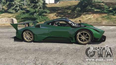 GTA 5 Pagani Zonda R v0.91 left side view