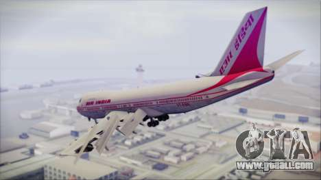 Boeing 747-237Bs Air India Rajendra Chola for GTA San Andreas left view