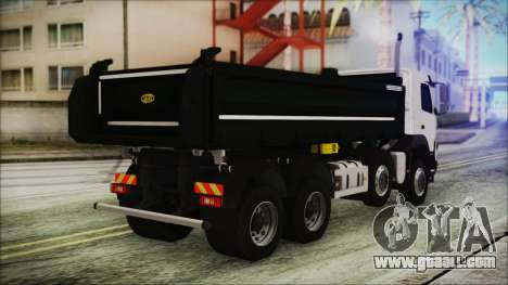 Volvo FMX Euro 6 for GTA San Andreas left view