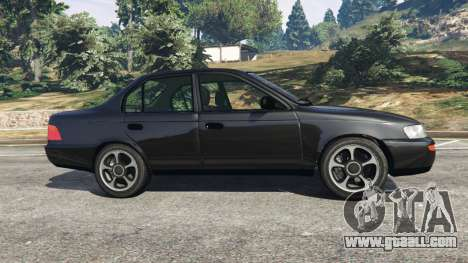Toyota Corolla 1.6 XEI [black edition] v1.02 for GTA 5