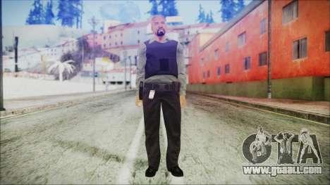 GTA 5 Ammu-Nation Seller 3 for GTA San Andreas second screenshot