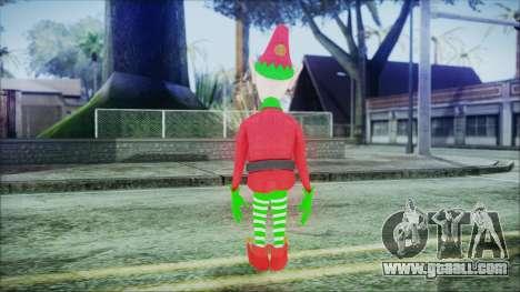 Christmas Elf v1 for GTA San Andreas third screenshot