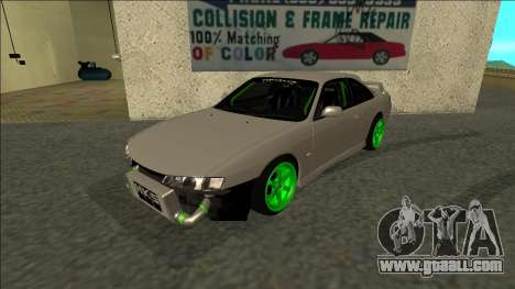 Nissan Silvia S14 Drift Monster Energy for GTA San Andreas