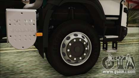 Volvo FMX Euro 6 for GTA San Andreas back left view