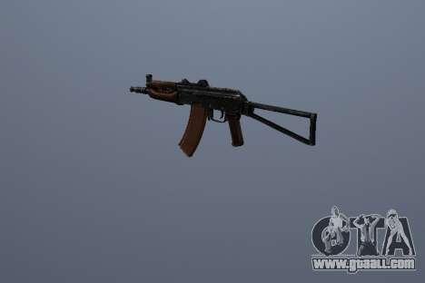 AK-74U for GTA San Andreas third screenshot