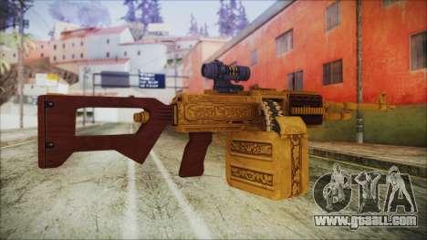 GTA 5 MG from Lowrider DLC for GTA San Andreas second screenshot
