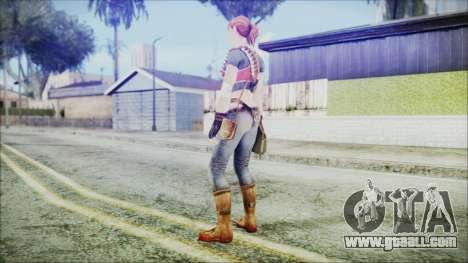 Evelyn from Contract Killer Zombies for GTA San Andreas third screenshot