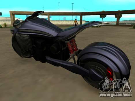 Krol Taurus concept HD ADOM v2.0 for GTA San Andreas back left view