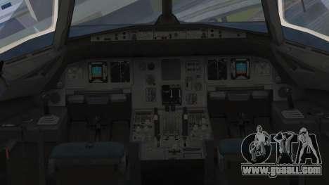 Airbus A320-200 Etihad Airways Abu Dhabi Grand for GTA San Andreas right view